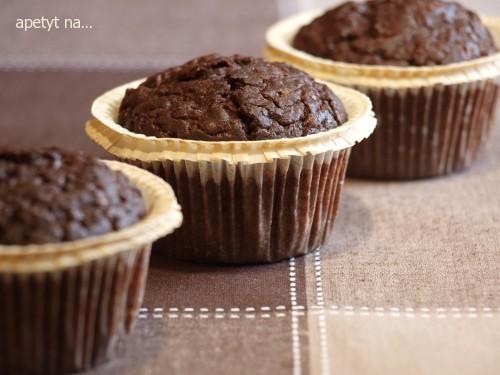muffiny czekoladowo-dyniowo-pomarańczowe
